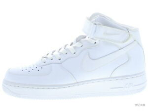 huge discount 61b81 d09a7 Image is loading NIKE-AIR-FORCE-1-MID-07-315123-111-