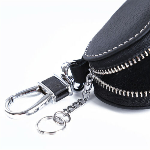 Leather Car Key Wallets Men Key Holder Housekeeper Keys Organizer Women Keychain