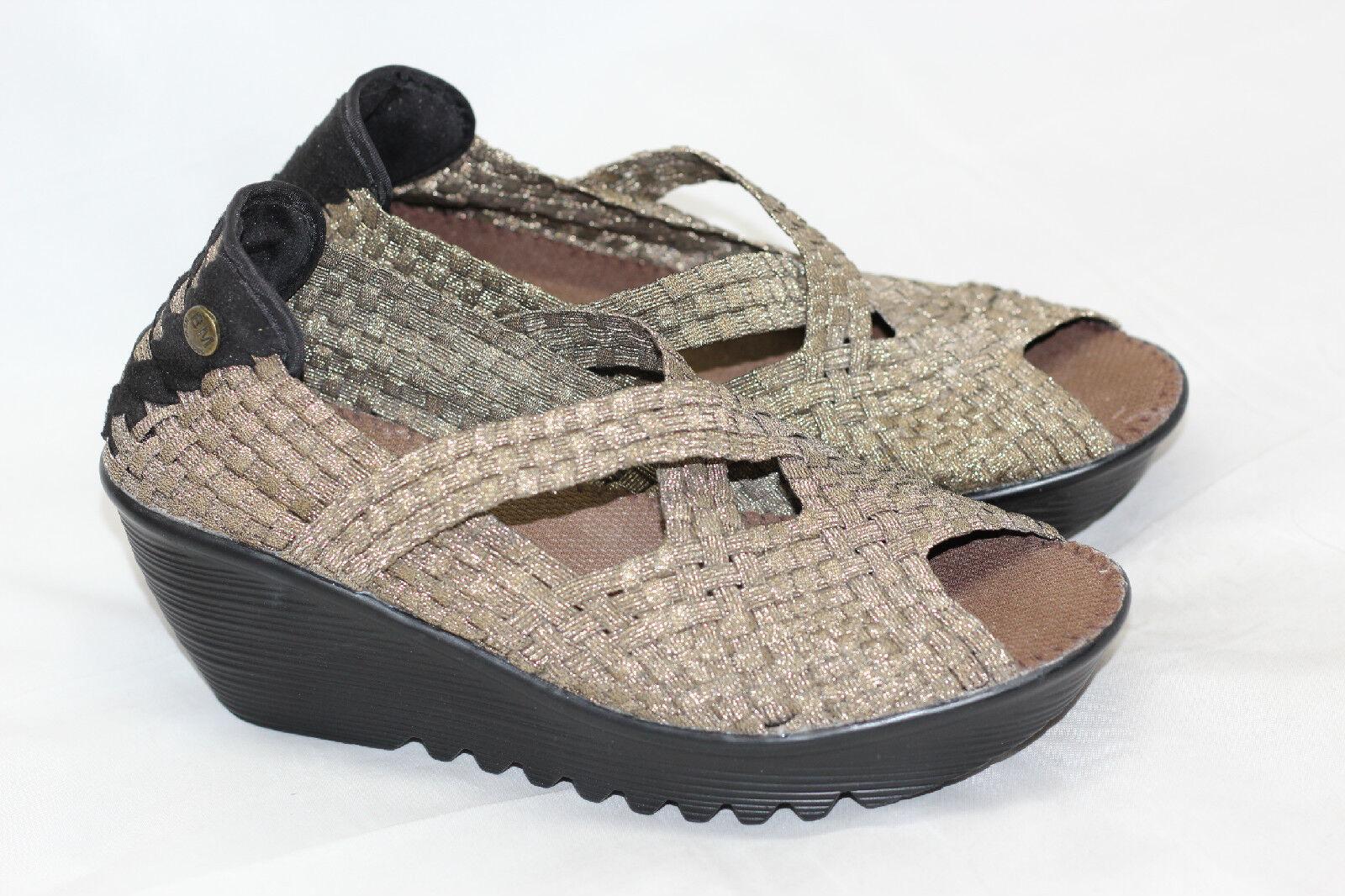 presentando tutte le ultime tendenze della moda Bernie Mev 'Calypso' Woven Platform Wedge Sandal - Bronze Bronze Bronze - 39   9US (S84)  seleziona tra le nuove marche come