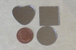 1:12 Échelle 3 Sans Cadre En Forme De Véritable Miroirs En Verre Maison De Poupées Miniature Accessoire