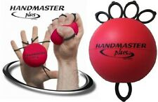 HANDMASTER PLUS Red MEDIUM Hand, Forearm & Wrist Exerciser ALL IN ONE Free Ship!