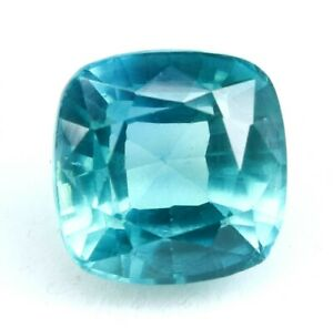 11.20 Ct Natural Extreme Bi-Color Sapphire Cushion Cut Certified Loose Gemstone