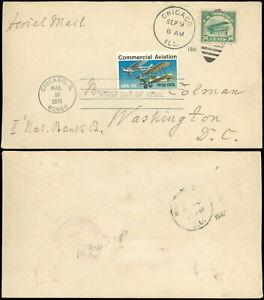 SEP-9-1918-CHICAGO-Cds-SCOTT-C2-Original-Franking-amp-034-Remailed-034-Scott-1684-FDC