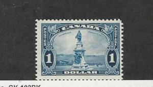 Canada, Postage Stamp, #227 Mint NH, 1935 Champlain Monument