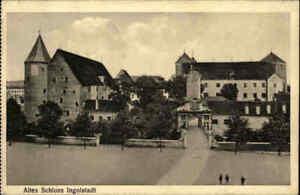 INGOLSTADT Bayern 1926 Eingang Straßen Partie am alten Schloss, Castle, alte AK