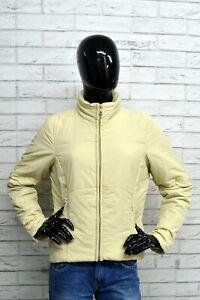 Giubbino-GAS-Donna-Giacca-Taglia-M-Beige-Imbottito-Giubbotto-Woman-Jacket