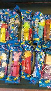 Disney PEZ Candy Dispensers: Lot Of 10-B