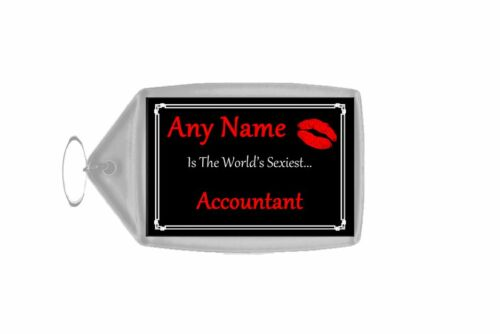 Accountant Personalised World/'s Sexiest Keyring