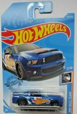 Hot Wheels 10 Ford Shelby GT-500 Super Snake 7//10 1:64 192//250 2019 Mattel