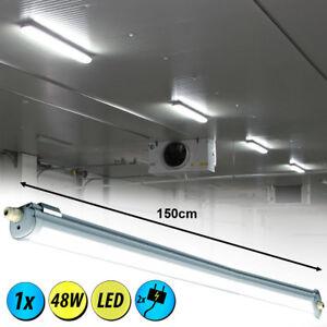 LED 48 W Werkstatt Feucht Raum Wannen Leuchte IP65 Decken Beleuchtung L 150 cm