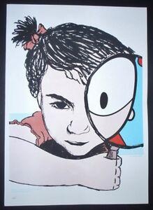 FERNANDA-Cuban-Screenprint-Poster-Salutes-New-U-S-Cuba-Relations-COMICS-ART