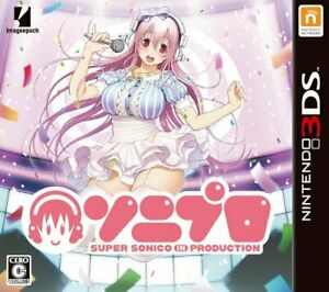 USED-Nintendo-3DS-SONIPRO-Super-Sonico-in-Production-30065-JAPAN-IMPORT