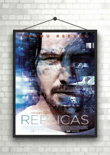 Replicas Keanu Reeves Large Movie Poster Art Print A0 A1 A2 A3 A4 Maxi