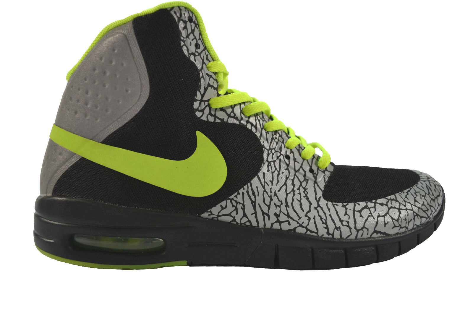 Nike PAUL RODRIGUEZ HYPERFUSE MAX P Black Volt Metallic Silver Price reduction Men's Shoes New shoes for men and women, limited time discount