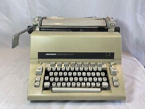 Typewriter hermes ambassador typewriter vintage