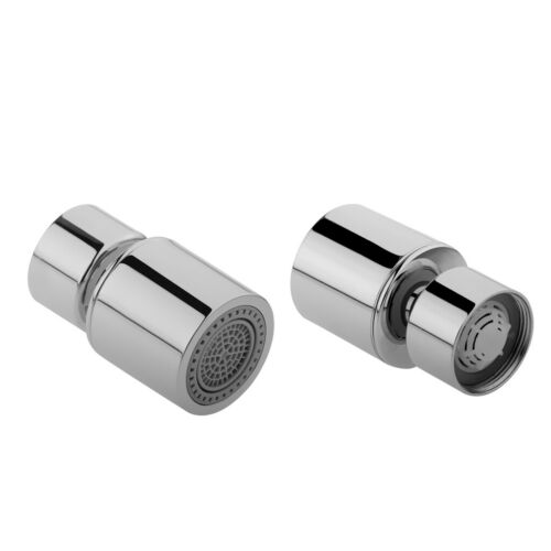 2x Adjustable Swivel Tap Aerator Water Faucet Filter Spray Head Replacement