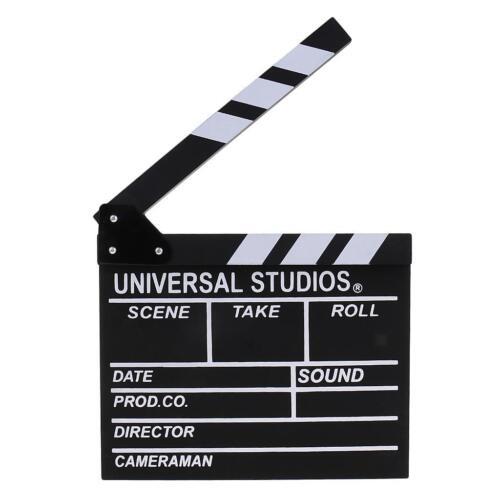 escena de video de director de madera escena de claqueta de cine de claqueta