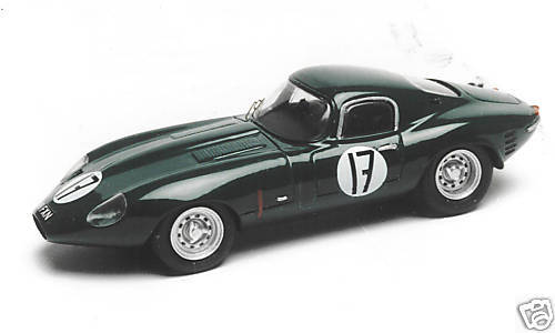 Jaguar type e lowdrag le mans 1964 unpainted vroom kit 1 43 no spark