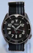 Premium SEIKO 7002-7000 Vintage Diver Watch Speedboat Dial Automatic Bond Strap