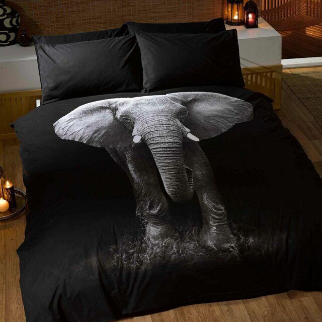 Boys Single Bedding Age 3 To 13 Duvet Cover Fun Bright Designs 135cm X 200cm Elephant 5027491016728 For Online Ebay