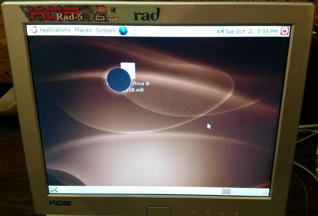 KDS RAD-23 Monitor Drivers for PC