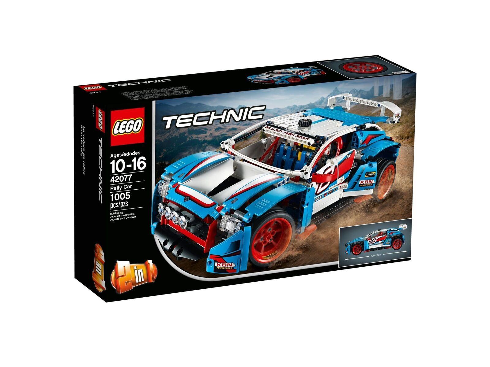 LEGO® Technic™ 42077 Rallyeauto NEU NEW OVP MISB