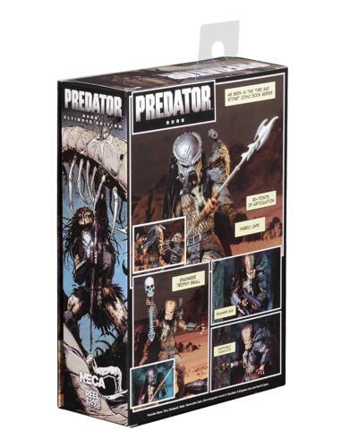 Predators ~ ULTIMATE AHAB PREDATOR ACTION FIGURE ~ NECA Aliens AVP