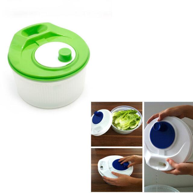 Kitchen Salad Lettuce Fruit Vegetable Spinner Strainer Big Colander Dryer Sifter