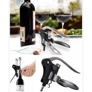 Rabbit-Ears-Corkscrew-Wine-Bottle-Opener-Cork-Remover-Foil-Cutter-Gadget-N7