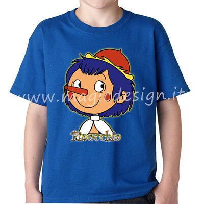 T shirt pinocchio cartoni anni tshirt le avventure di pinocchio