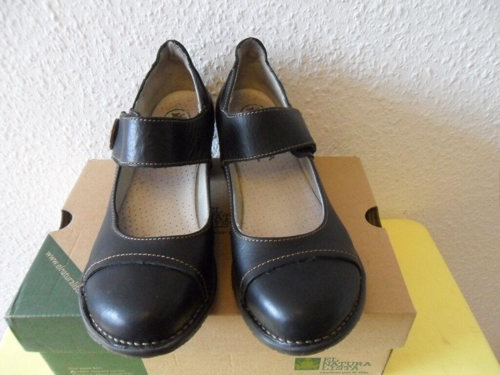 Schuhe Pumps EL NATURALISTA  Gr.42  Leder  TOP