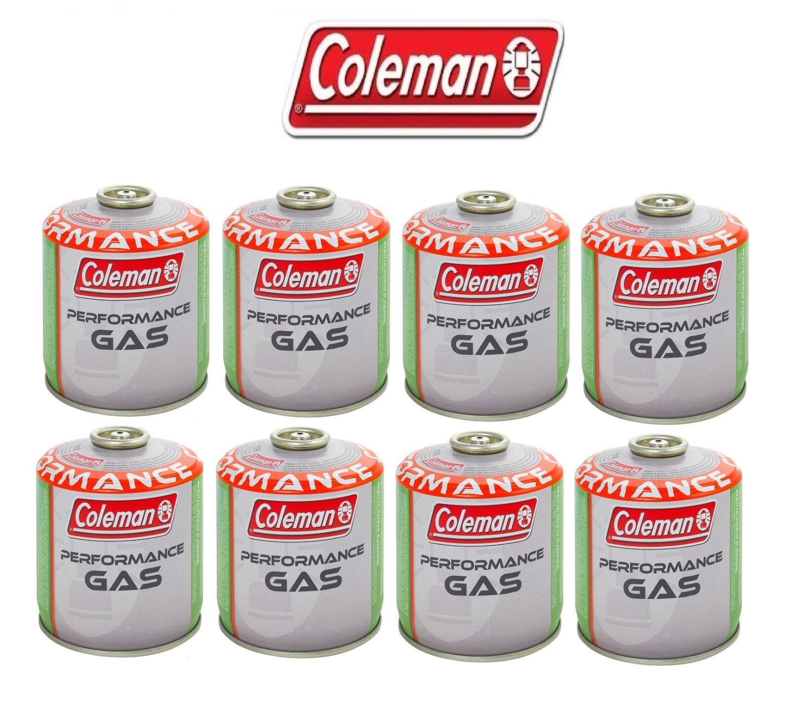 BOMBOLETTA CocheTUCCIA GAS COLEMAN c500 performance FILETTO 440 g GAS  8 PEZZI