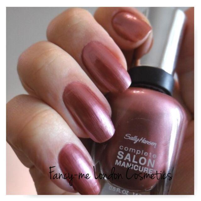 Sally Hansen Complete Salon 5 in 1 Manicure Nail Varnish #320 Raisin ...