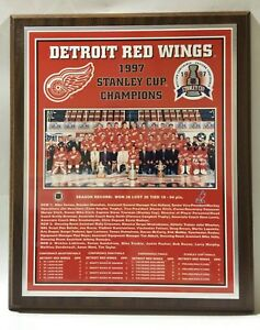 Detroit-Red-Wings-1997-Stanley-Cup-Champions-Plaque-by-Healy-Awards