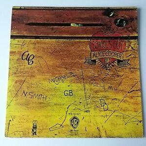Alice-Cooper-School-039-s-Out-Vinyl-LP-German-1980-039-s-Press-EX