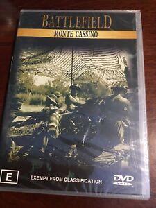 BATTLEFIELD-MONTE-CASSINO-New-Sealed-DVD-R4-PAL