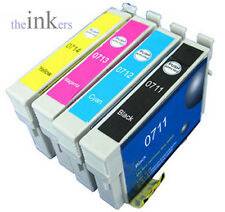 1 X FULL SET COMPATIBLE INKS REPLACE EPSON T0711-T0715