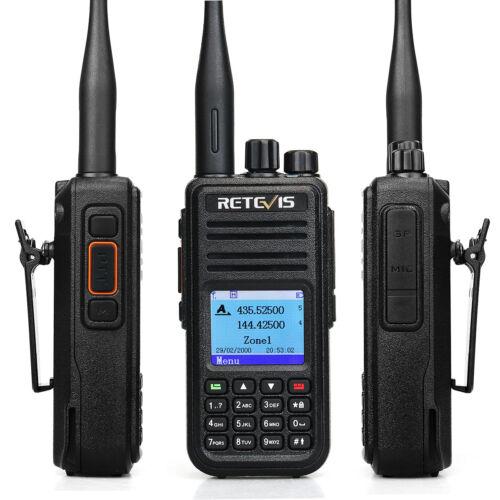 Retevis RT3S Digital DMR Ham Walkie TalkieUHF//VHF  DCDM TDMA VOX TOT 2way Radio