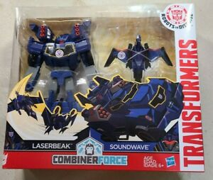 Transformers Robots in Disguise Soundwave & Lazerbeak