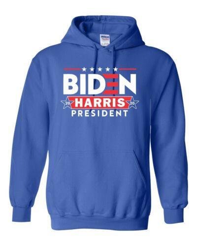 Joe Biden /& Harris 2020 for President Unisex Hoodie Hooded Sweatshirt 1023