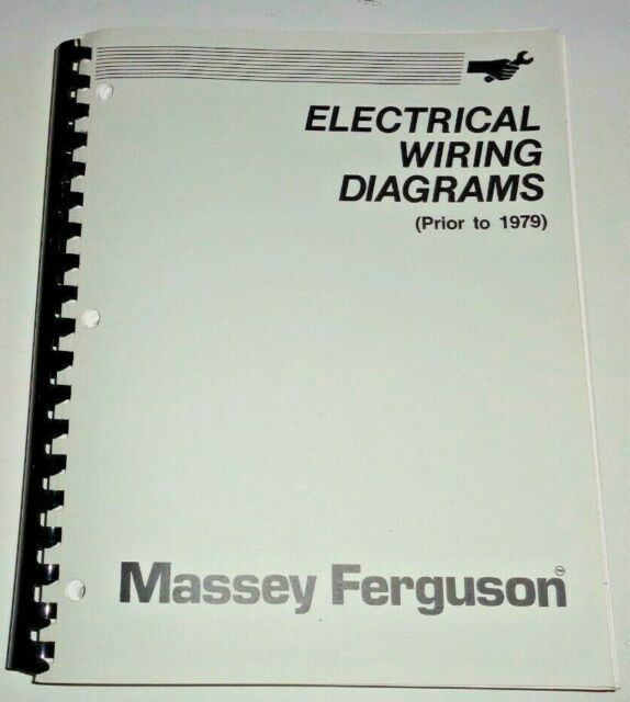 Massey Ferguson Mh Pre 1979 Electrical Wiring Diagrams