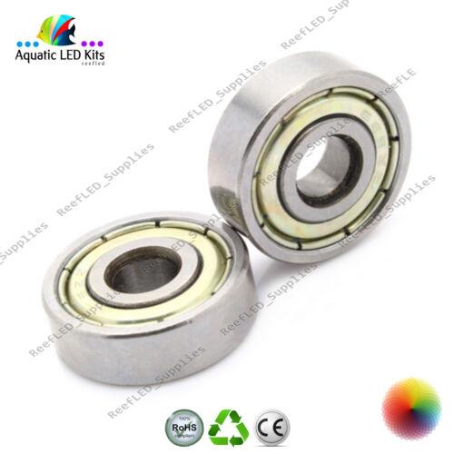 UK 5x APEC 624ZZ Ball 4x13x5 mm Chrome Steel Bearing for 3D Printer Reprap