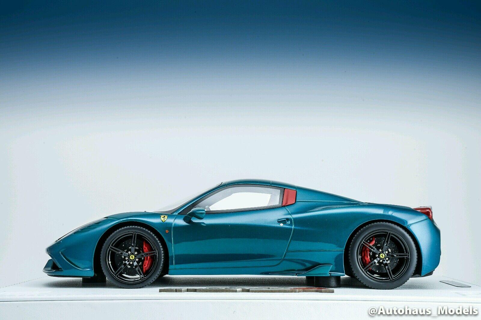 BBR Ferrari  Speciale un Coupe Arthemis verde sobre base de Lujo Edición Limitada 10 piezas