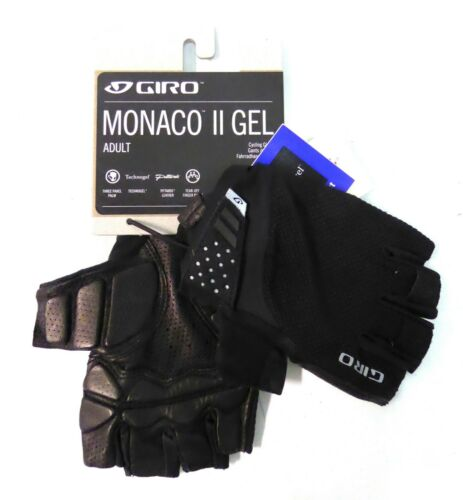 Giro Monaco II Gel Cycling Gloves Black Medium