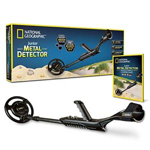 NATIONAL GEOGRAPHIC Junior Metal Detector –Adjustable Metal Detector for Kids
