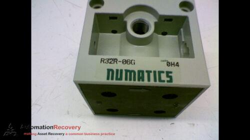 FLEXIBLOK FRL SERIES REGULATOR NEW* #156148 NUMATICS R32R-06G