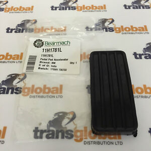 Land Rover 90 110 127 & 130 Throttle / Accelerator Pedal Pad / Cover - 11H1781L