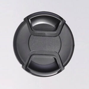 77mm Center Pinch Snap On Front Lens Cap Cover For Nikon Camera DSLR