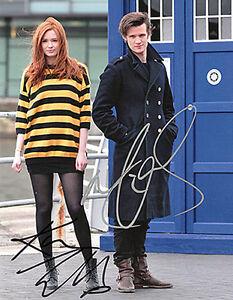 Doctor-Who-Matt-Smith-Karen-Gillan-Autograph-Copy