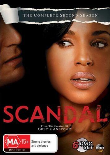 1 of 1 - Scandal Season 2 DVD Region 4 VG Condition